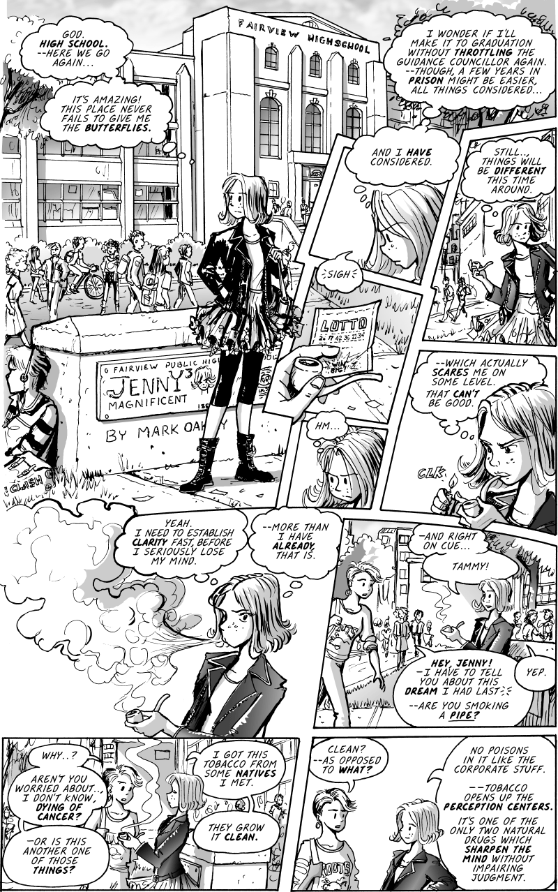 Jenny Mysterious Prologue Page#1