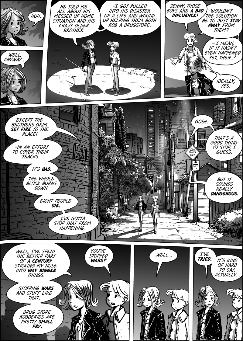 Jenny Mysterious Chapter#5 Page#133