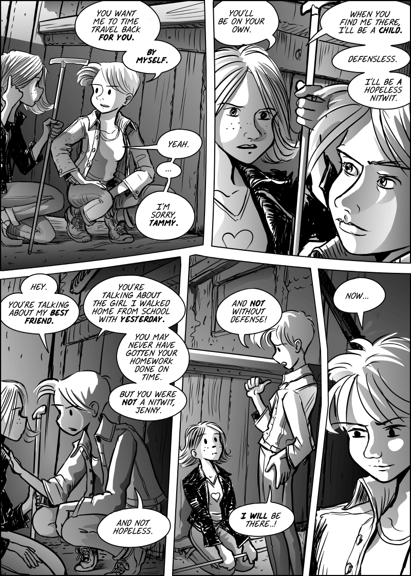 Jenny Mysterious Chapter#7 Page#168