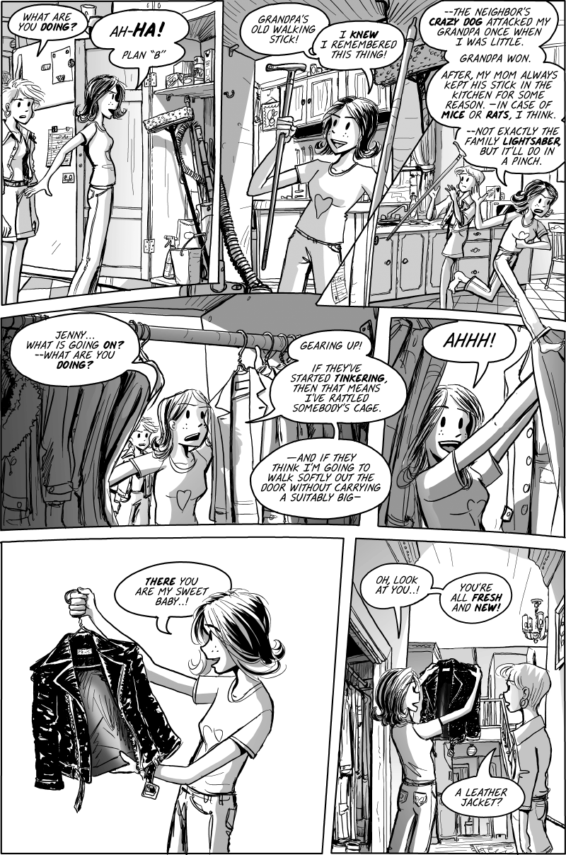 Jenny Mysterious Chapter#1 Page#17