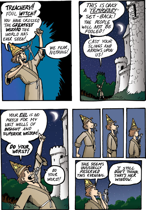 The Walking Mage webcomic #3 - 