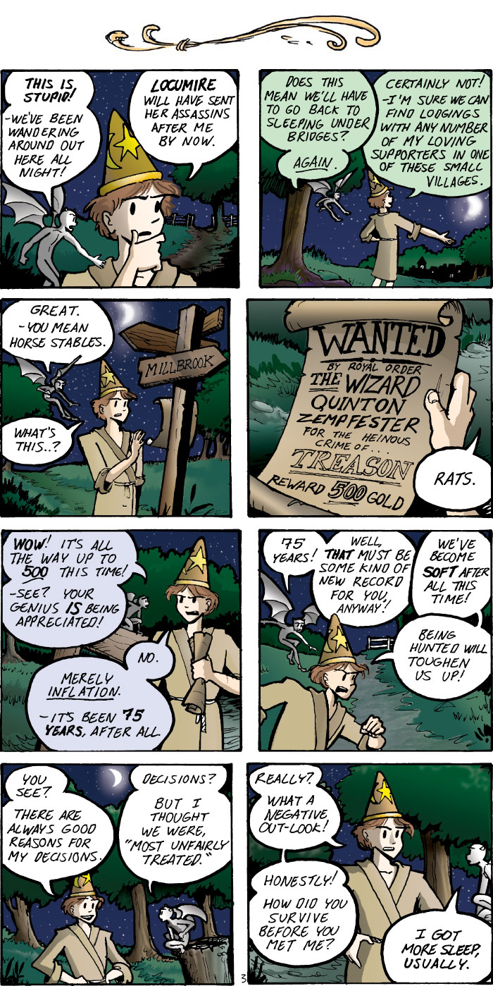 The Walking Mage webcomic #4 - 