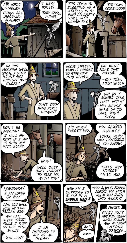 The Walking Mage webcomic #5