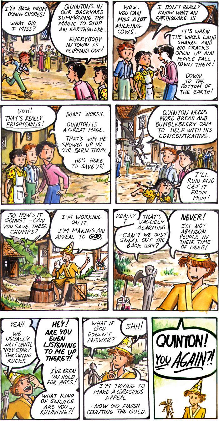The Walking Mage webcomic #13