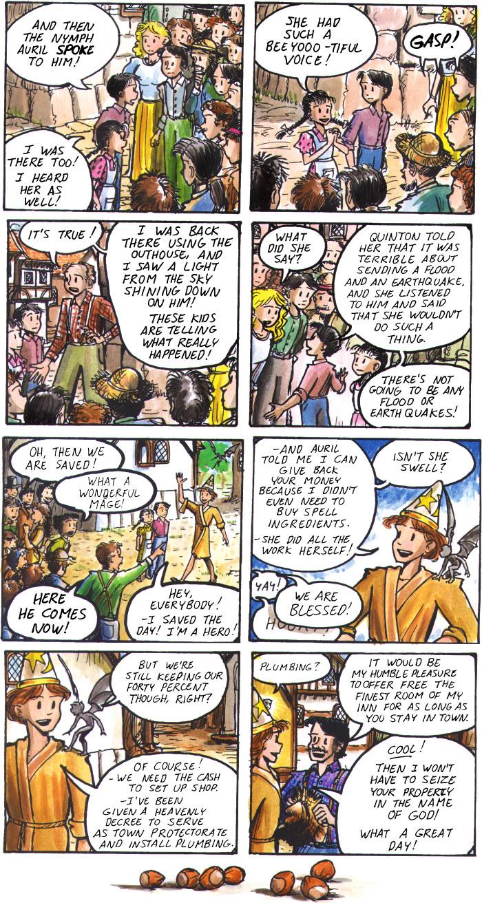 The Walking Mage webcomic #15