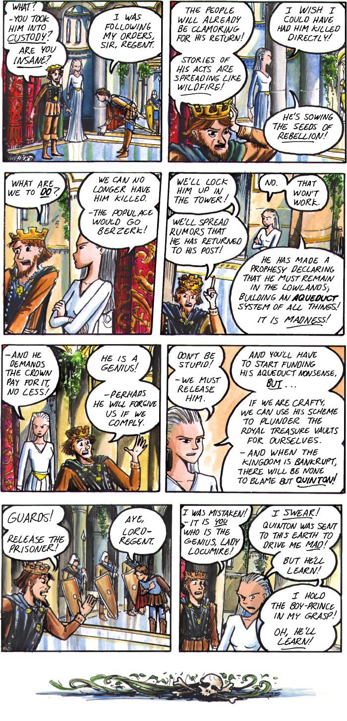 The Walking Mage webcomic #17
