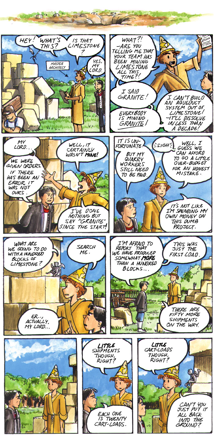 The Walking Mage webcomic #19