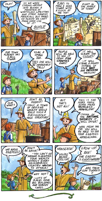 The Walking Mage webcomic #23