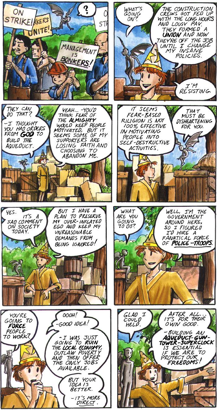 The Walking Mage webcomic #27