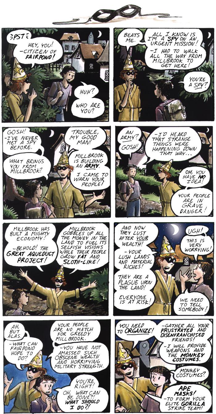 The Walking Mage webcomic #33