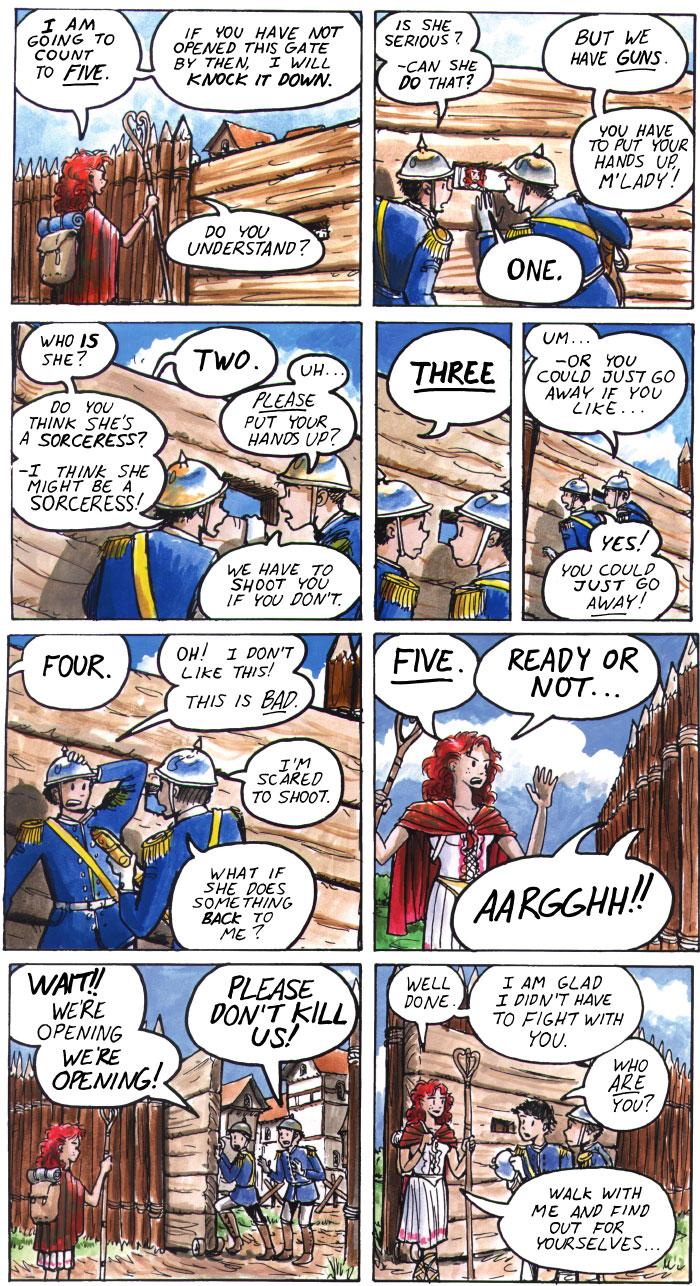 The Walking Mage webcomic #37