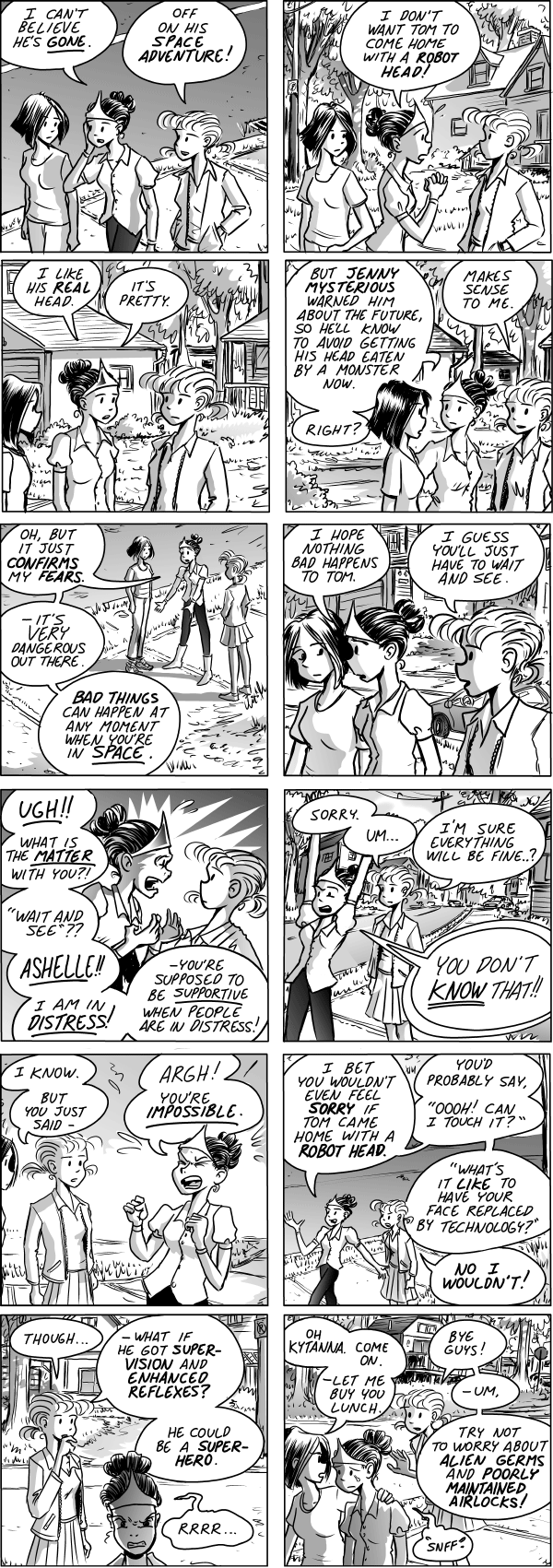 webcomic Stardrop by Mark Oakley www.iboxpublishing.com