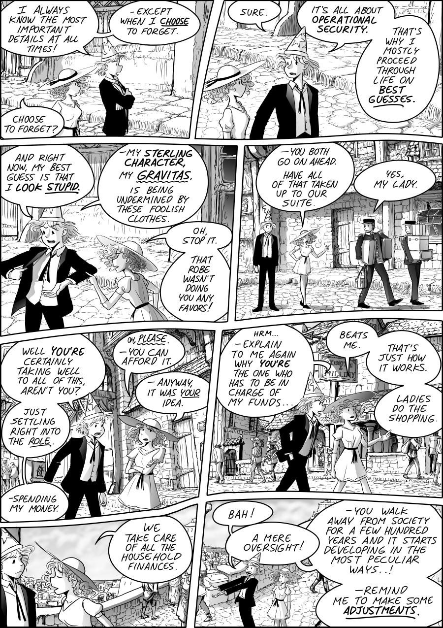 webcomic Thieves & Kings by Mark Oakley www.digital-comics.net